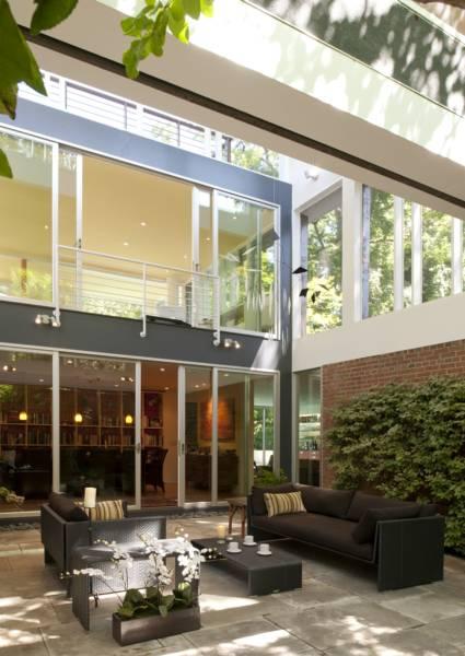 Mid Century Modern Work Space Washington Dc Real Estate